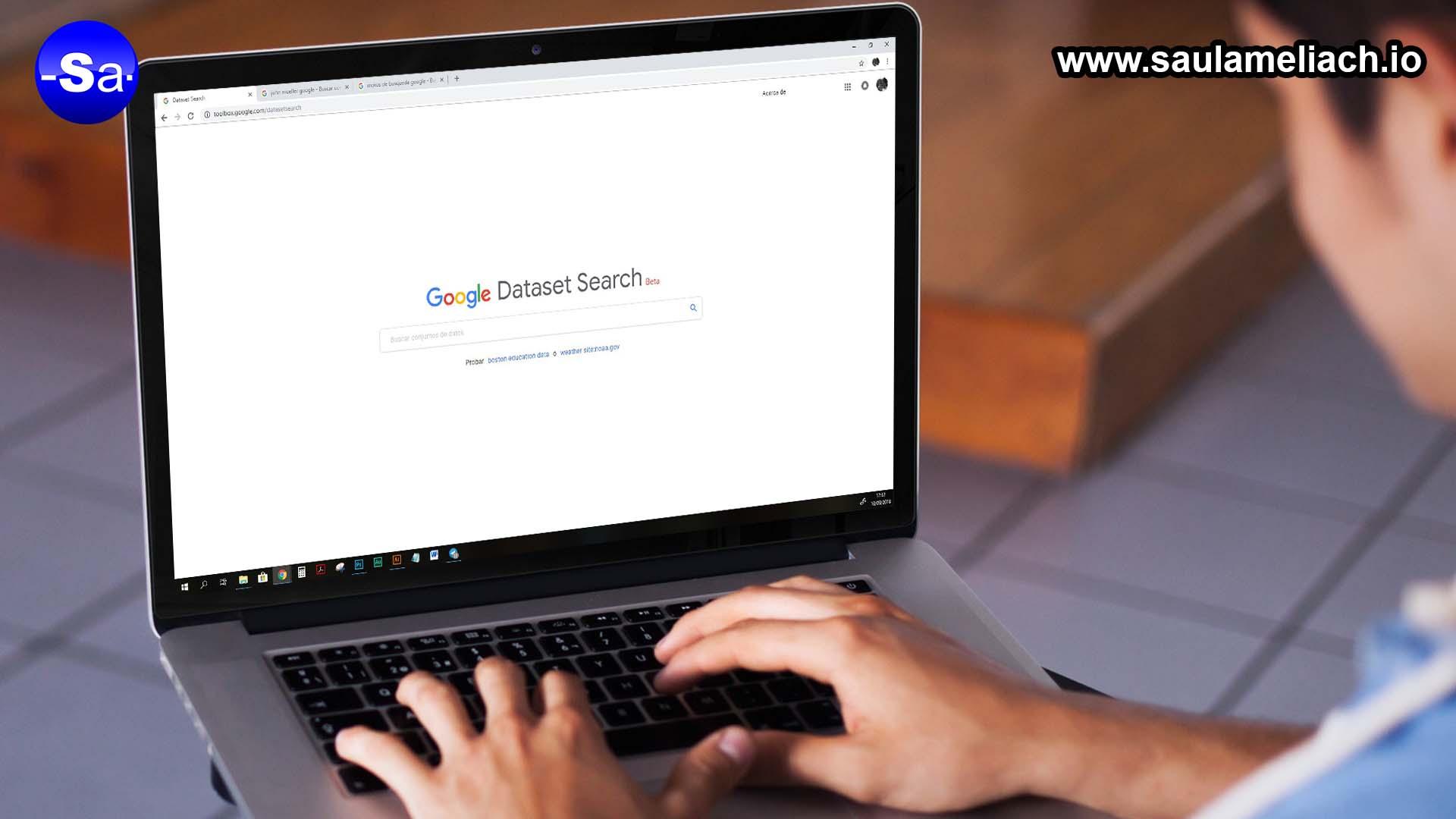 google - dataset search - saul ameliach