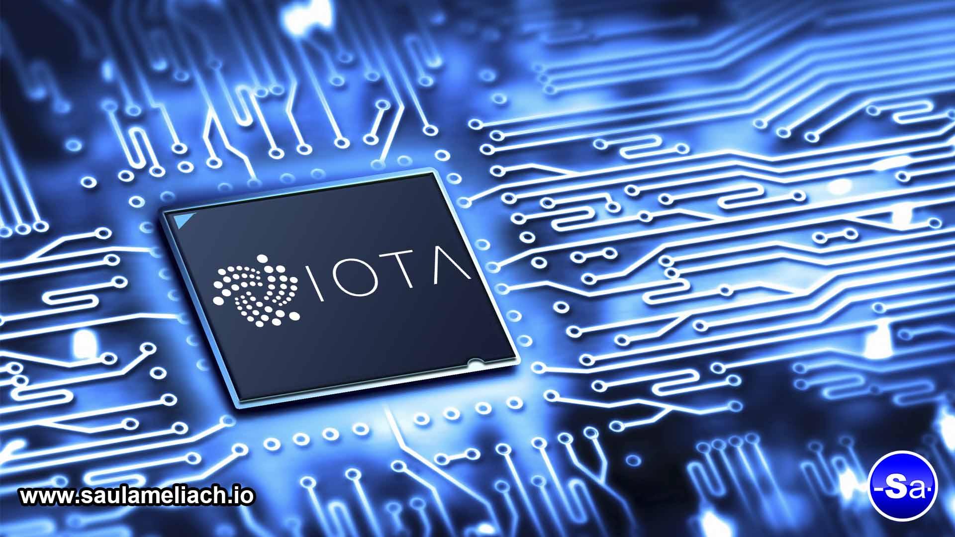 IOTA technology - saul ameliach